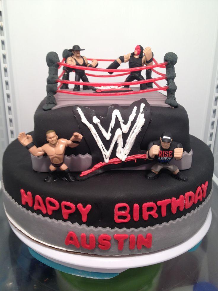 Wwe Wrestling Cake Wwe Cake Cake Wrestling Cake