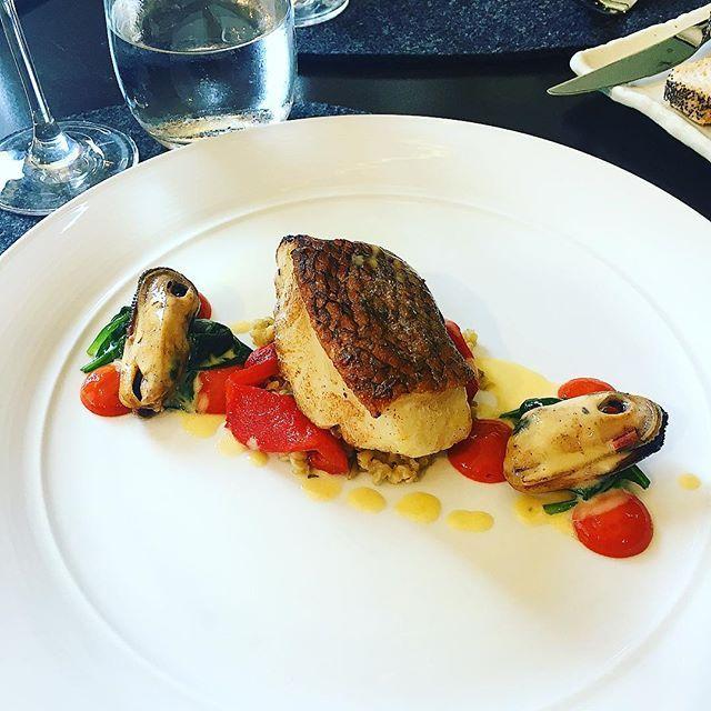 Sneak peek at tomorrow nights sustainable seafood dinner @117dining  Toothfish, mussels, freekah, capsicum and Pepe Saya butter #toothfish #pepesayabutter #sustainableseafood  #117dining #117 #ihgfoodie #intercontinentalsydney #igers #instahub #instachef #instafood #instachef #instagood #instadaily #instagramhub #chef #cheflife #chefsofinstagram #food #foodie #foodsii #foodporn #truecooks #life #love #chefstalk #foodpornshare #cookniche