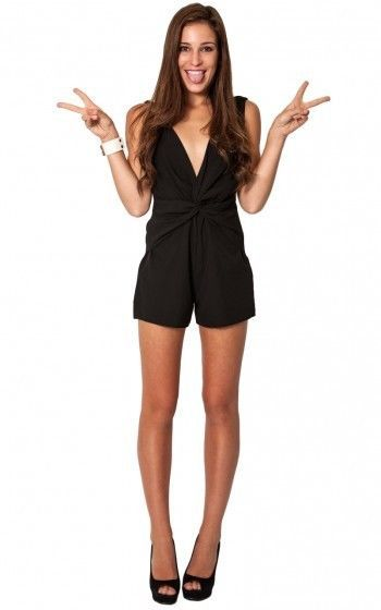 Brand New Ladies Showpo Cloud Nine Black Jumpsuit , Size 8 - Now Selling! Click through to go to eBay auction.