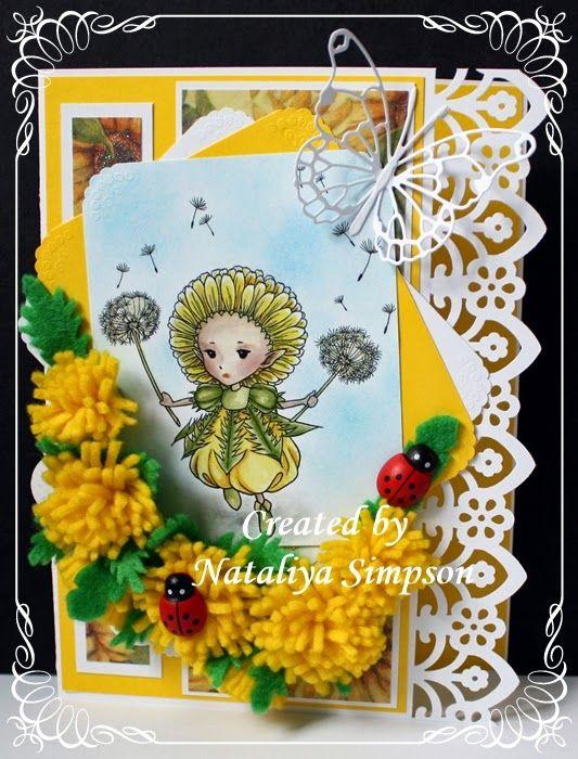 Dandelion Sprite, by Mitzi Sato Wiuff