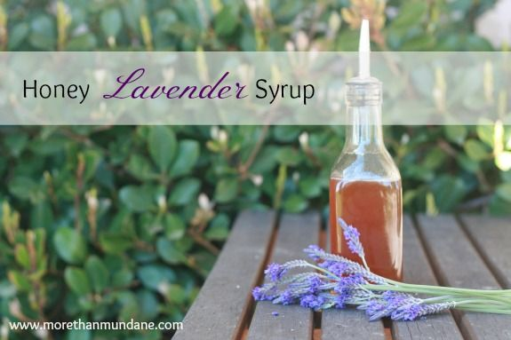 The possibilities for this honey lavender syrup are endless! Use it to make a honey lavender latte or to jazz up some sparkling water.