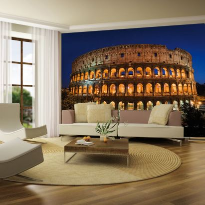 #Rome #Coliseum Wallpaper Mural by @1wallmurals #italy #italian #inspiration #home #decor #wall