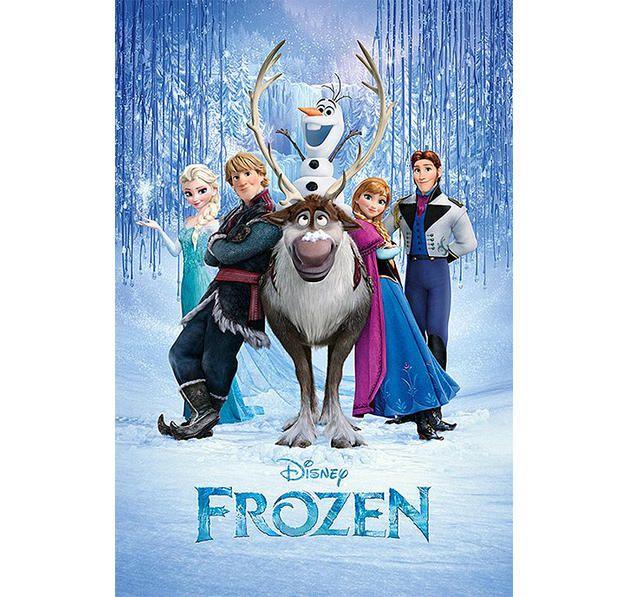 Frozen Poster Die Eiskönigin