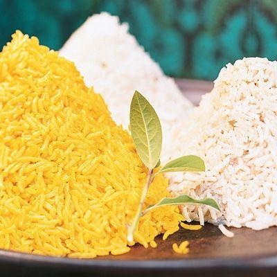Bild på Korianderris, gult ris och garam masalaris