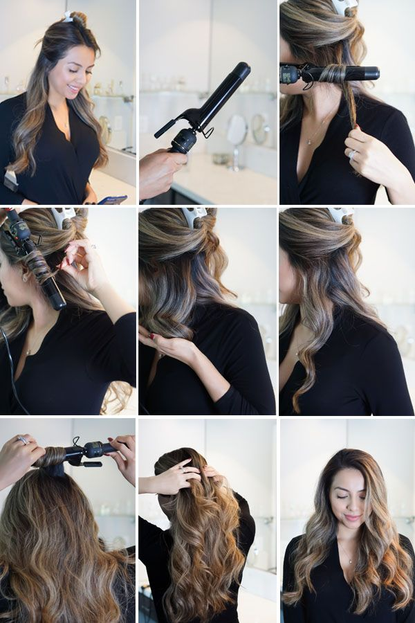 How To Get Silky Soft Salon Style Waves At Home Living Lovelier Times Salon Style Beauty Easy Hairstyles