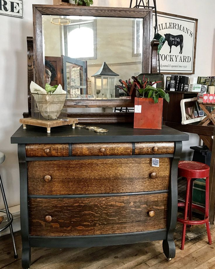 Beautiful Graphite Dresser By Whimsical Perspective