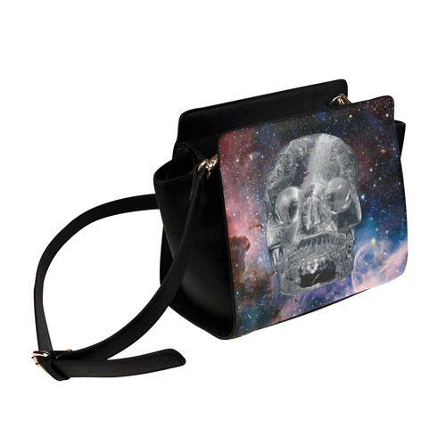Crystall Skull Satchel Bag. FREE Shipping. #artsadd #bags #skulls