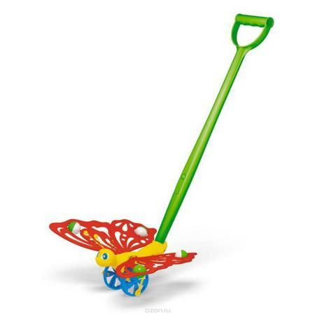 """Stellar Игрушка-каталка Бабочка  — 299р. ----------------------- Яркая игрушка-каталка Stellar """"Бабочка"""" непременно понравится вашему малышу и подойдет для игры, как дома, так и на свежем воздухе. Игрушка выполнена из прочного пластика в виде симпатичной бабочки на колесиках. Бабочка порадует малыша своим веселым видом и движущимися крыльями. Игрушка-каталка Stellar """"Бабочка"""" развивает пространственное мышление, цветовое восприятие, тактильные ощущения, ловкость и координацию движений."""
