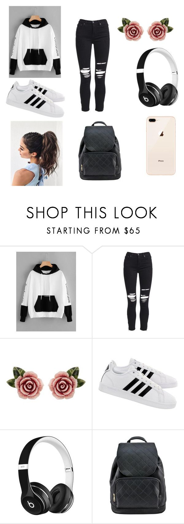 Untitled #44 by palaghia-teona on Polyvore featuring AMIRI, adidas, Dolce&Gabbana and Beats by Dr. Dre