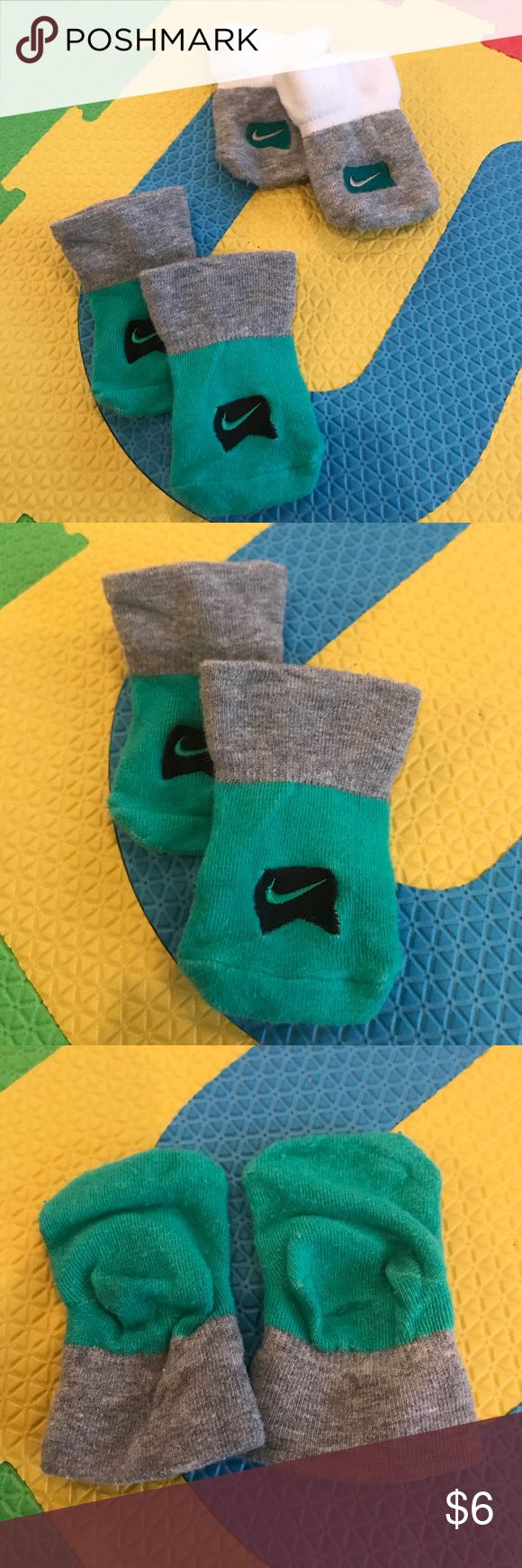 Baby NIKE Socks. Sz. 0-6 MTHS. Used good condition Baby NIKE Socks. Sz. 0-6 MTHS. Used good condition Nike Other