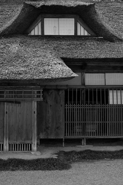 .Japanese traditional folk house