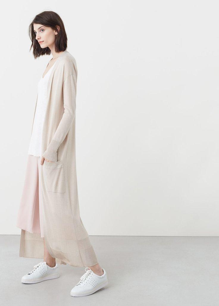 Cardigan lungo tasche - Cardigan e pullover da Donna | OUTLET Italia