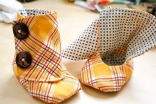 free baby boot pattern