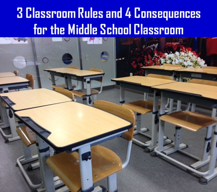 Classroom Ideas For Middle School : Read about three great rules to have in a middle school