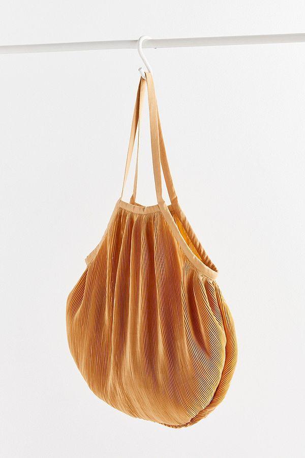 079be44ea6 Slide View  2  Plisse Pleated Shopper Tote Bag