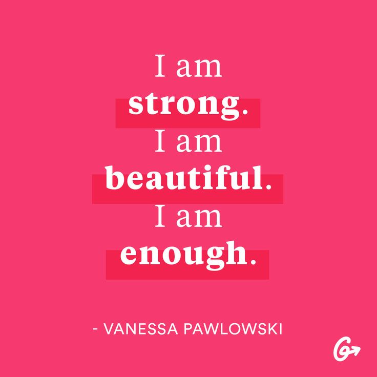 Give yourself some props! These (non-cheesy) quotes will help you start your day off right.  #motivation #bodypositive http://greatist.com/grow/body-positive-mantras