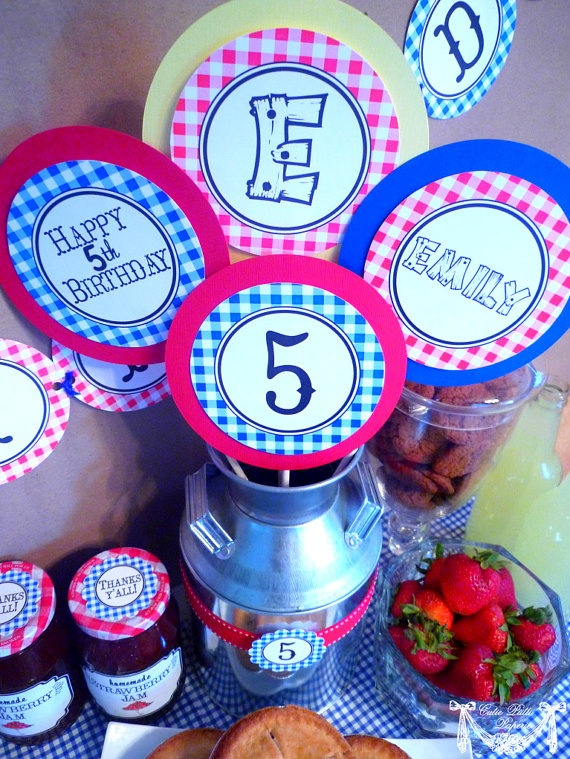 County Fair Party State Fair Party Country Fair by CutiePutti, $8.00