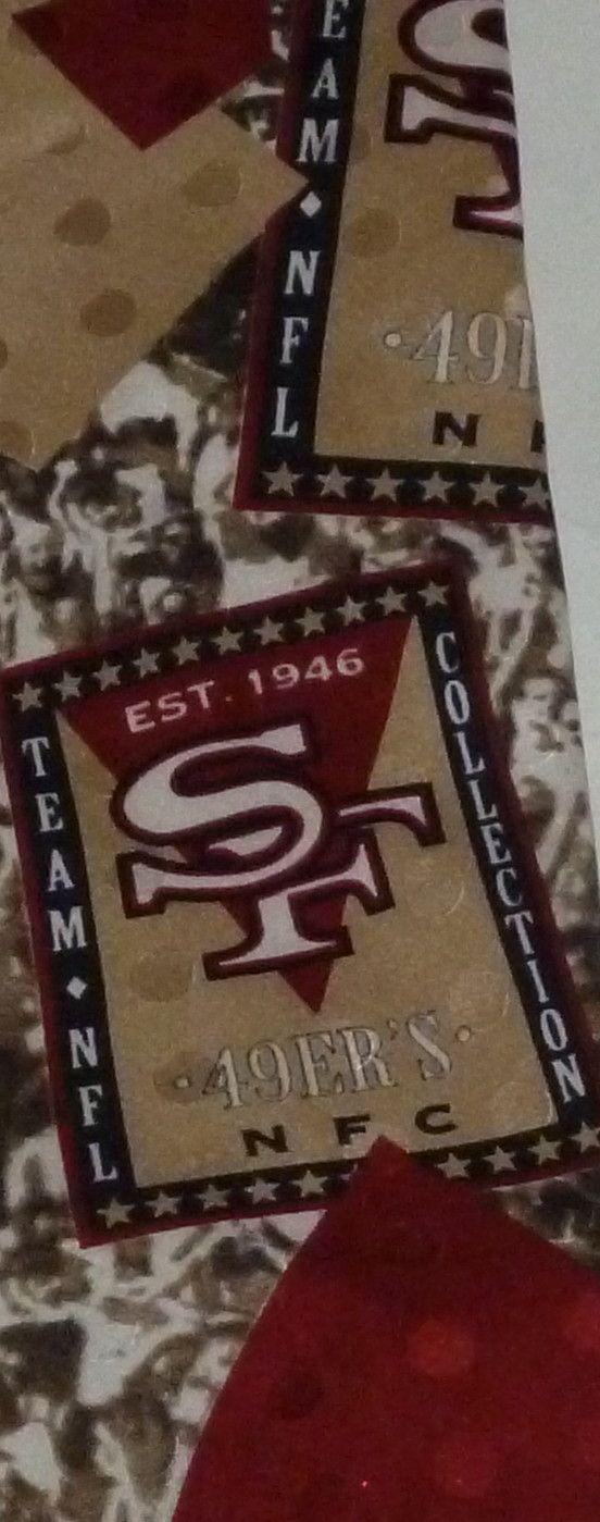 San Francisco 49ers Football NFL Sports Tie