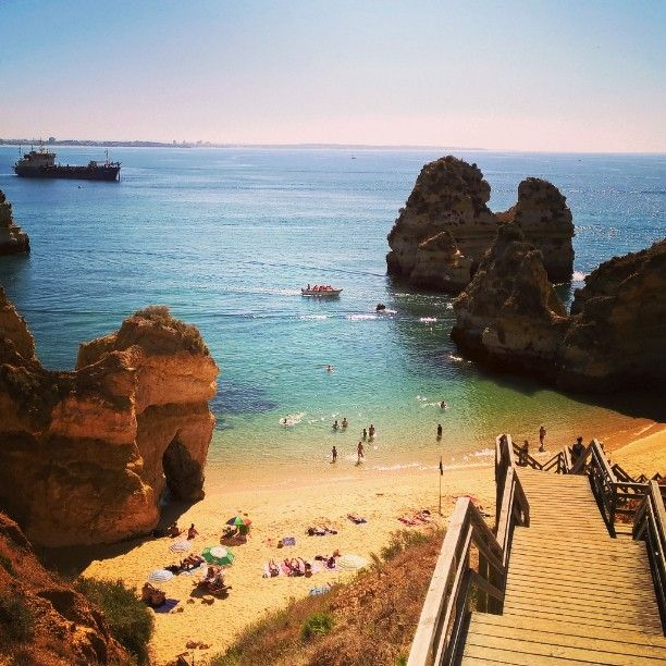 #algarve #lagos #portugal #beach