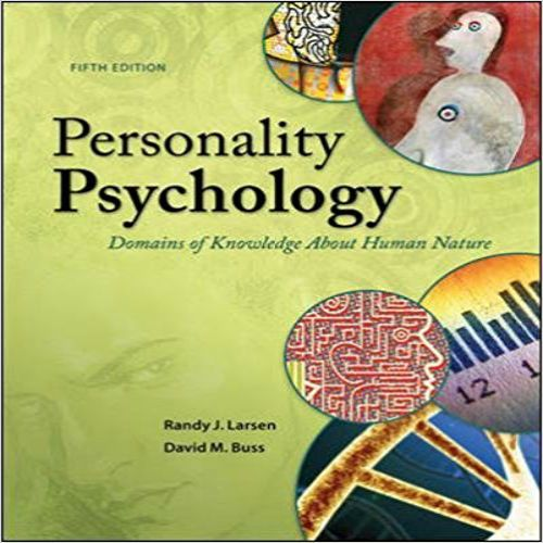 The 73 best test bank images on pinterest manual textbook and randy larsen and david buss dynamically demonstrate how scientists approach the study of personality in personality psychology domains of knowledge about fandeluxe Gallery