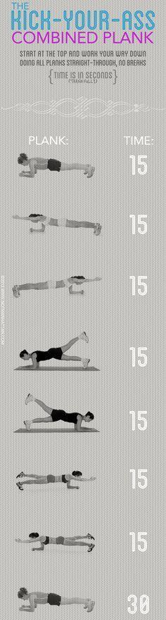 Ass Kicking Plank Challenge!