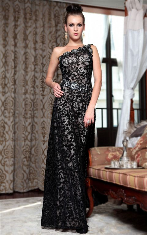 http://www.trouws.com/fluwelen-zwarte-kant-zeemeermin-jurken-een-schouder-avondjurken-p3649.html