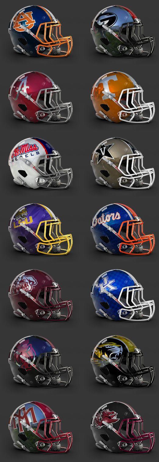 SEC Concept Helmets