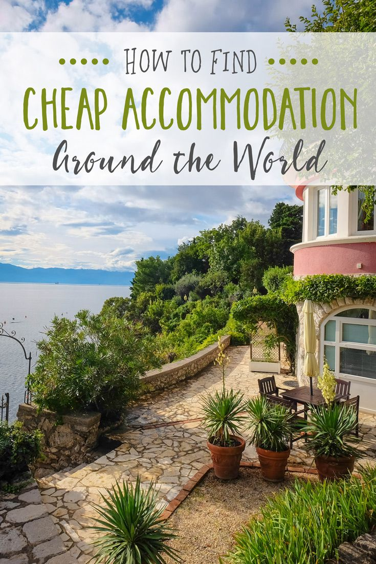 How to Find Cheap Accommodation Around the World