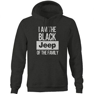 I Am the Black JEEP of the Family Men's Sweatshirt