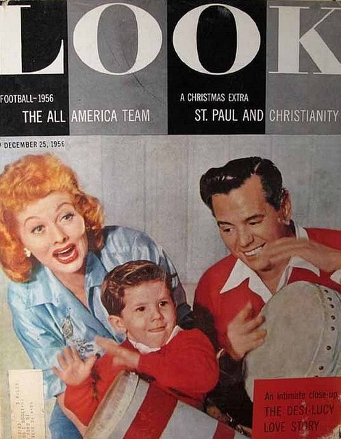 1956 LOOK Magazine i love lucy and the Ricardo's.     I have this a gift from Robert.  tk