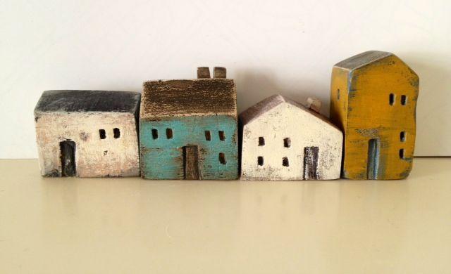 ceramic miniatures// vesna gusman// looks like holli would like her work