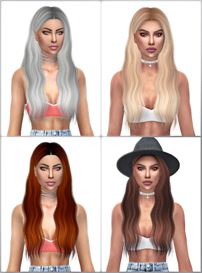 Ade Lorde Hair Retexture at Kenzar Sims via Sims 4 Updates Check more at http://sims4updates.net/hairstyles/ade-lorde-hair-retexture-at-kenzar-sims/