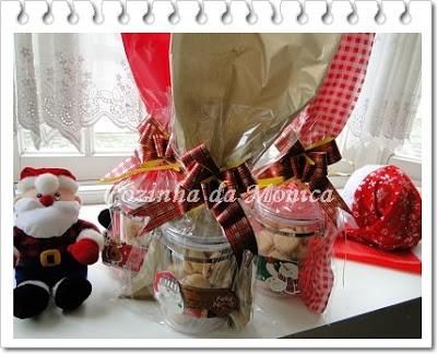 Biscoitinhos para presente de Natal.