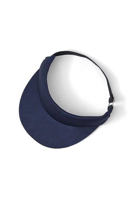 Donnelly Satin Accessories Sun Cap, Total Eclipse