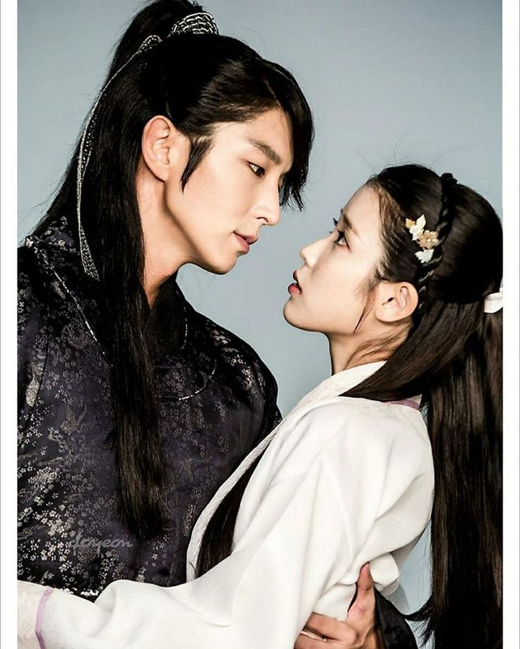 "Lee Joon Gi and IU - ""Moon Lovers"" / ""Scarlet Heart"""