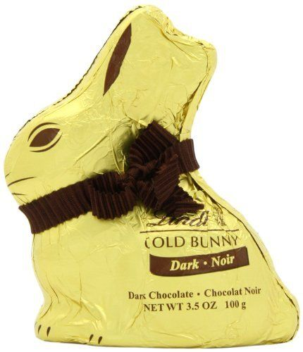 67 best vegan chocolate and candy images on pinterest chocolate a lindt dark chocolate gold bunny makes a delicious vegan easter treat that looks almost too negle Images
