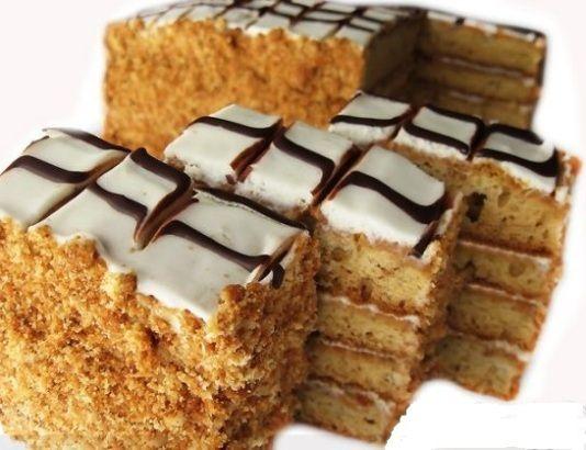 Торт «Медовик без масла»
