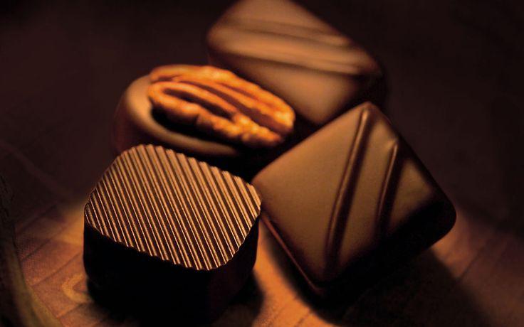 luxurious chocolates (: