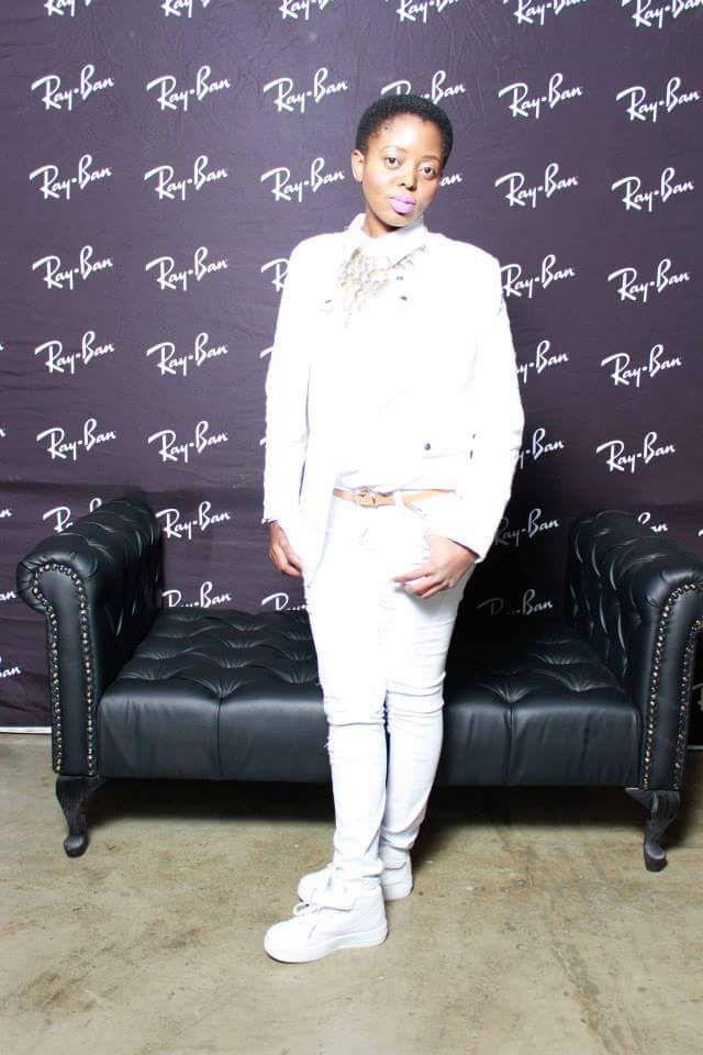 All white everything white jeans white shirt white jacket white air max...