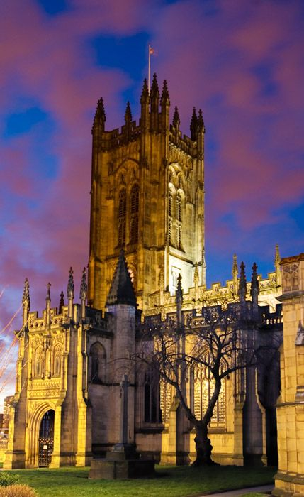 Manchester Cathedral.I would love to go see this place one day.Please check out my website thanks. www.photopix.co.nz