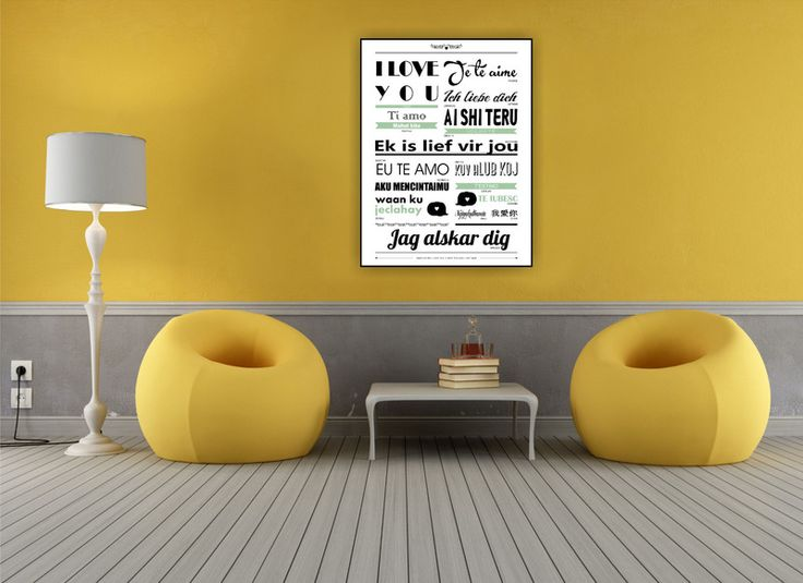 LOVE_language  - MAMBALAGA - Plakaty typograficzne