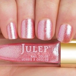 Julep - Geena (January 2015 birthstone) rose quartz iridescent shimmer