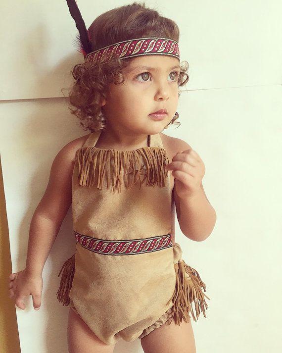 Pocahontas princess romper by PookieWear on Etsy