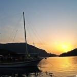 Sunset on Sail Turkey - Weekly Hump Day Photo