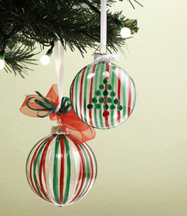Painted ornaments