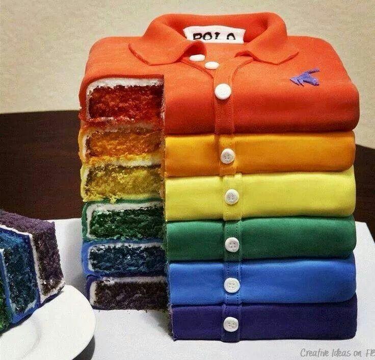 Shirt cakes