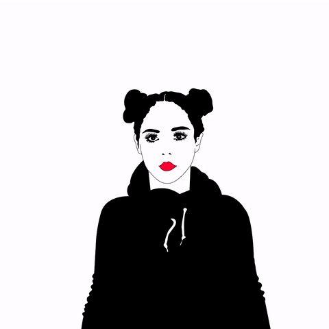 L'artista cilena Xaviera Lopez è la maga delle gif animate