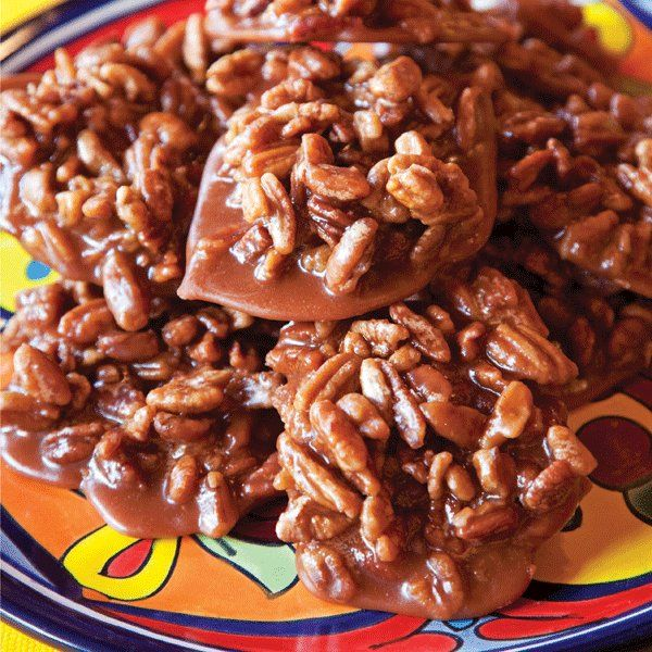 Pecan pralines at Mi Tierra Mexican Bakery and Cafe
