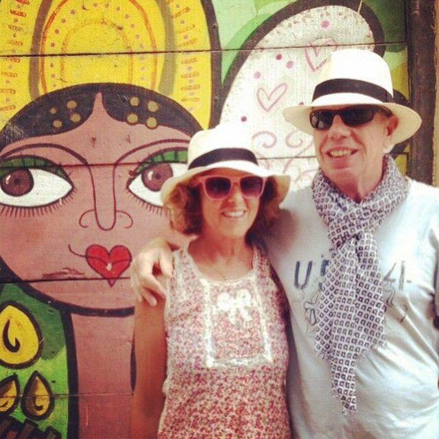 #AlessiaMarcuzzi Alessia Marcuzzi: Mamma e papa' mi hanno mandato questa foto da Panama... Non sono stupendi? Stanno insieme da quasi 50 anni e si divertono ancora come due fidanzatini. ❤️❤️❤️ Vi voglio bene e siete la forza della mia vita❤️ #eugenioetony #loveofmylife