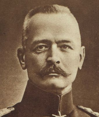 General Erich von Falkenhayn, Chief of the German General Staff